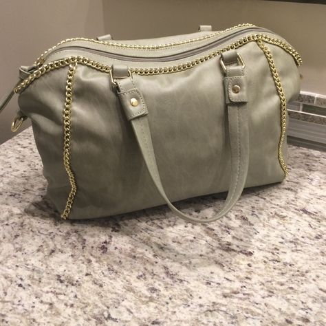 5e36bfaec8c Burberry handbag Discontinued Burberry plaid water- resistant handbag. Slightly  used. Few marks as shown in photos. Magnetic snap on i…   My Posh Picks