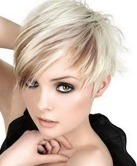 List Of Pinterest Kurzhaarfrisuren Damen Freche Feines Haar Braun