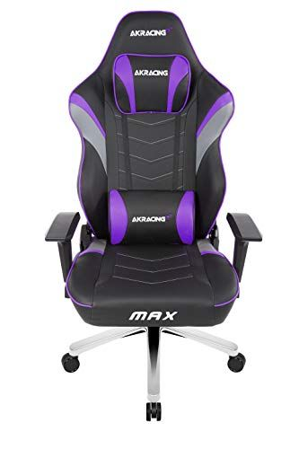 Akracing Masters Series Max Gaming Chair With Wide Flat Seat 400 Lbs Weight Limit Rocker And Seat Height Adjustment Mechani Games Xbox One Games Gaming Chair