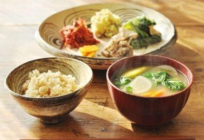丁寧な暮らしは丁寧な食事から 一汁三菜 を心がけて健康になろう キナリノ レシピ 一汁三菜 食事