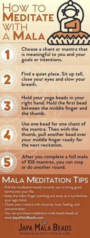How to Use a Mala