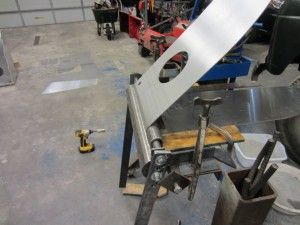 Diy Sheet Metal Rolling Brake Table Kustoms By Kent Sheet Metal Sheet Metal Brake Metal