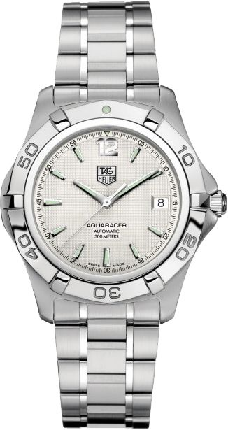 WAF2111.BA0806  NEW TAG HEUER AQUARACER 300M MENS AUTOMATIC WATCH  IN STOCK - Click to View Mother's Day Luxury Watch Sales Event    Store Display Model  (What's This