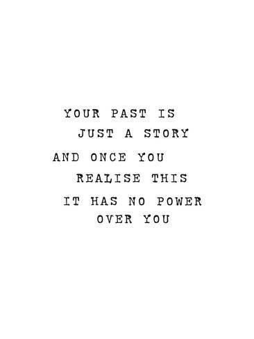 Giclee Print: Your Past Is Just A Story by Brett Wilson : 24x18in