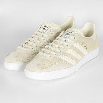 france Chaussures 70s Femme Creme Adidas Gazelle pMqzSUV