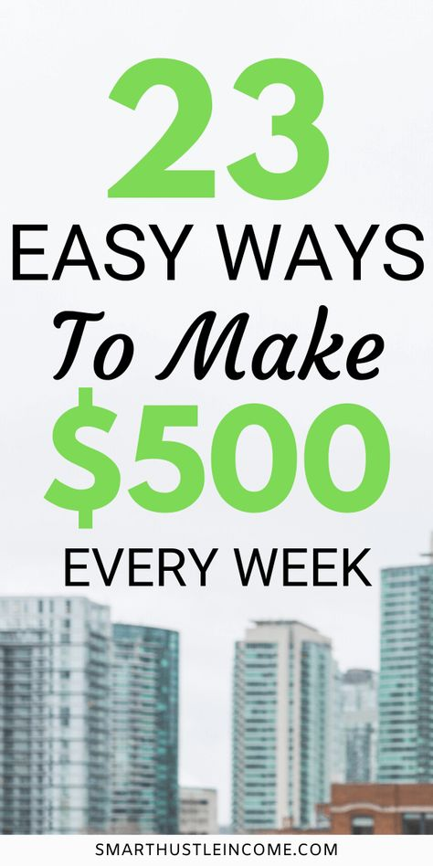 Make Money Fast On The Side