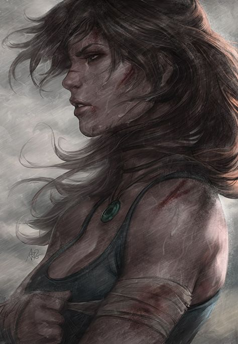Gamekyo : Arts of the Tomb Raider n°6 : Portrait
