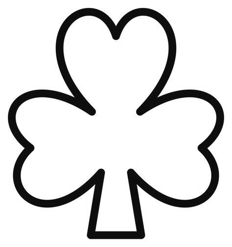 Free Printable Shamrock Coloring Pages For Kids | Shamrock ...