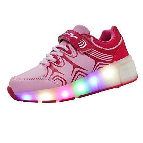 Ofertas de KIPTOP® Zapatillas con ruedas led 5 colores