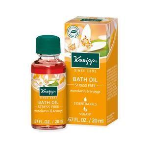 Kneipp Stress Free Bath Oil Bath Oils Essential Oils For Stress Herbal Bath