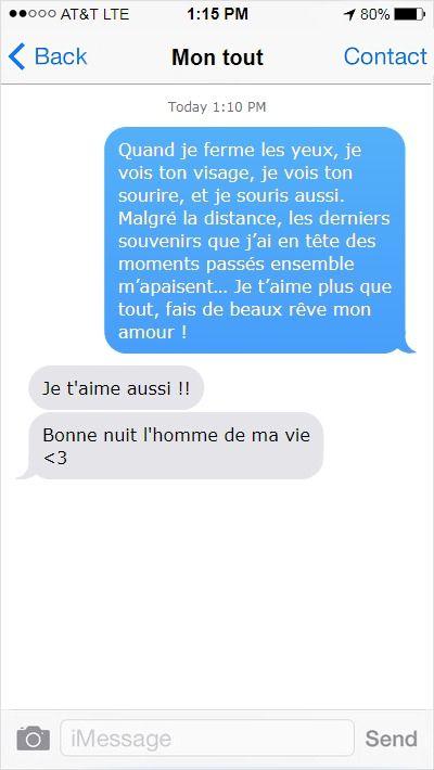 Sms Damour Pour Dire Bonne Nuit Message Amour Bonne Nuit
