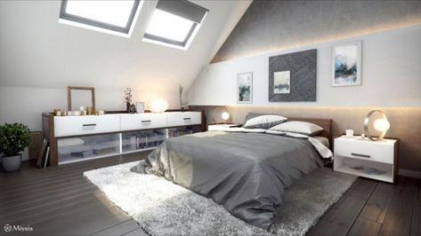21 Moderne Schlafzimmer Im Dachgeschoss Fur Jeden Geschmack