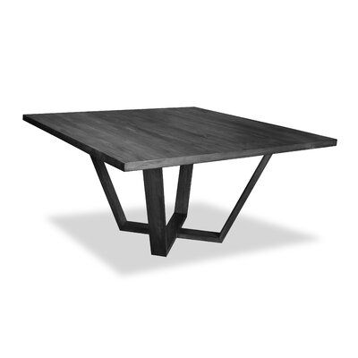 Ivy Bronx Macarthur Solid Wood Dining Table Color Gray Size 30