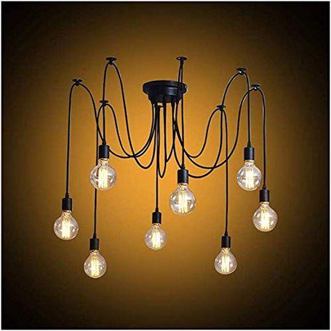 Modrad Kronleuchter Spinne Lampe Vintage Retro Hangend Lampen