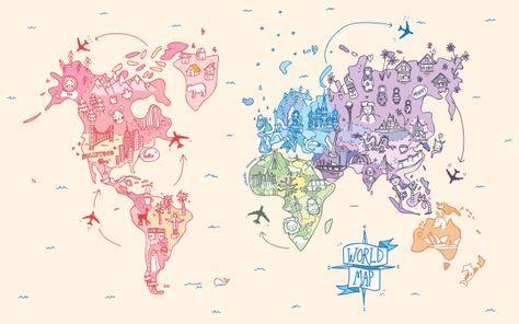 Który kontynent musisz koniecznie odwiedzić?