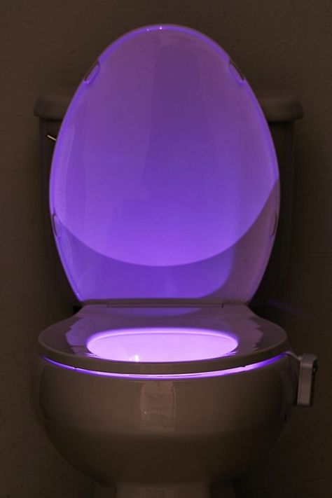 Nachtlicht Toilette Ideen Night Light Toilet Ideas – New Ideas Room Ideas Bedroom, Teen Room Decor, Toilet Room Decor, Bedroom Designs, House Doctor, Purple Tumblr, Deco Led, Neon Room, Plywood Furniture