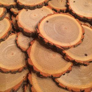 Bulk Wood Slices Set Of 100 4 Inch Wood Slices Wood Slice Coasters Rustic Wedding Decor Wedding Favors Wood Rounds Tree Slices Wood Slices Tree Slices Wood
