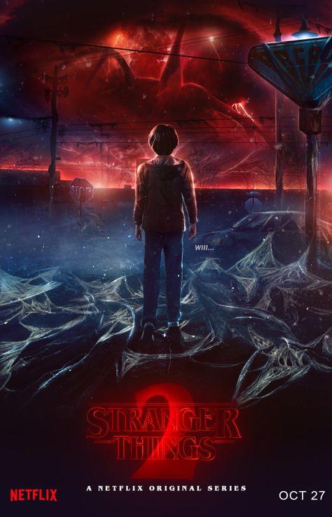 Stranger Things Season 2 - PosterSpy