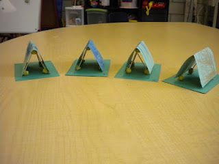 Acts Paul Preached in Europe-Priscilla & Aquila Paper Tent Craft