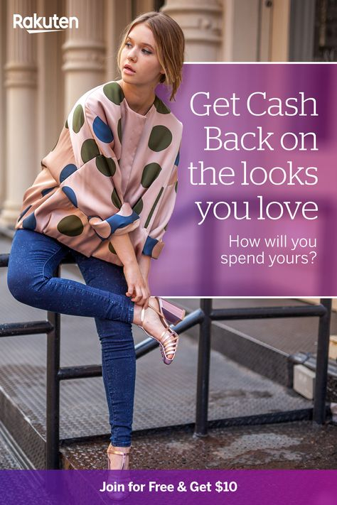 Sign up and start earning Cash Back with Rakuten at all your favorite retailers. Plus, get a $10 bonus! Tap the pin to learn more.