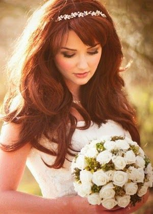pelo suelto cm peinado de boda   peinados   pinterest   Пуло суелто