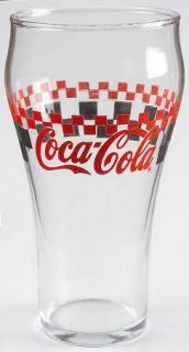 "Coke Glass w//Red Script Logo Tumbler Collectible Miniature 3/"" Coca Cola"