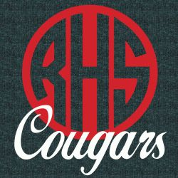 Custom T-Shirt Designs With Your School Name, Mascot and Colors printed ON A POCKET By Gandy Ink