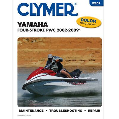 Advertisement Ebay Clymer W807 Service Shop Repair Manual Yamaha Four Stroke Pwc 2002 2009 In 2020 Clymer Personal Watercraft Yamaha