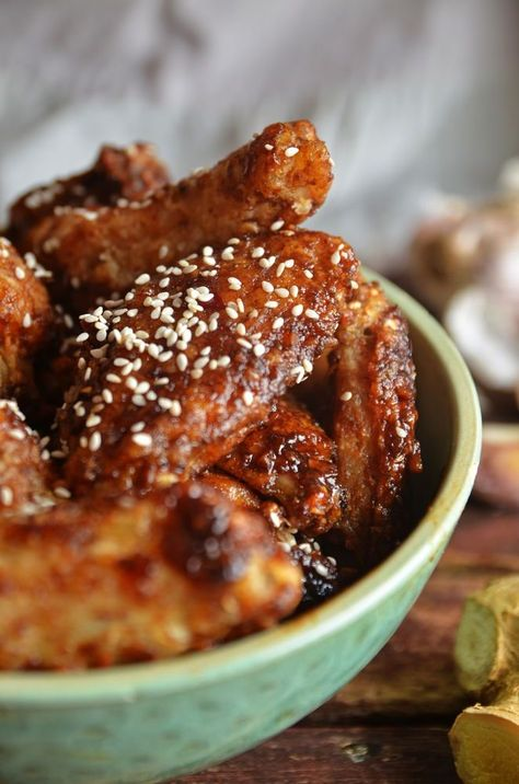 Korean Chicken Wings and other delicious BBQ smoker recipes. Check out these best smoker recipes to break out at your next barbecue. From best smoker side recipes, smoked pork, smoked beef, smoked ribs, and more!