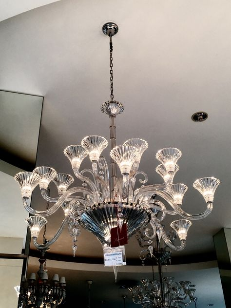 Baccarat crystal chandeliers mille nuits 18 lights