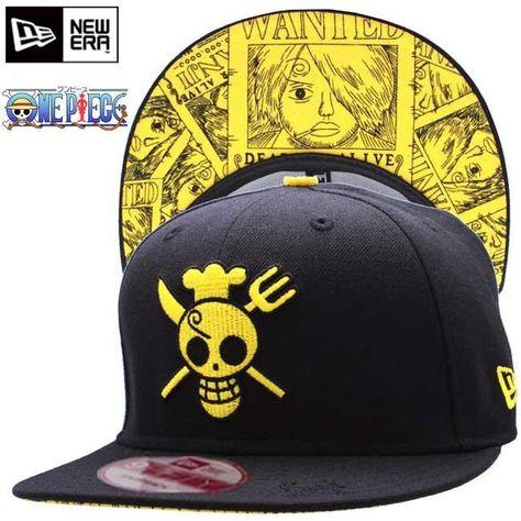 ecd6abeac9362 Sanji One Piece New Era Snapbacks Hats