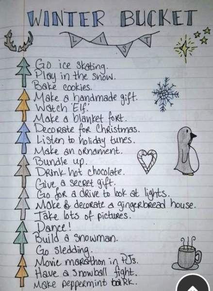 Best Birthday Ideas For Boyfriend Activities Christmas Gifts 70 Ideas Christmasgiftideasforboyfriend In 2020 Winter Bucket List Bucket List Winter Journal