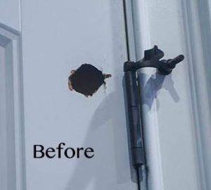 How To Repair Hollow Core Door Holes Hollow Core Doors Door