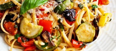 Pasta Con Verduras Revista Cocina Recipe Food Flexitarian Diet Cooking