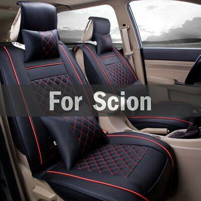 Ad Ebay Car Styling Four Seasons Leather Seat Covers For Scion Fr S Ia Im Iq Tc Xa Xd Leather Car Seat Covers Car Seats Leather Car Seats