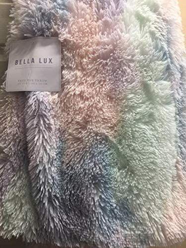 Pastel colored blanket