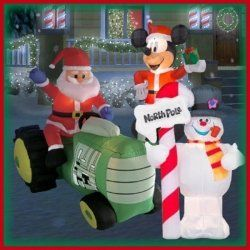 There's nothing more fun for the holidays then putting up outdoor Christmas inflatables in the front yard. Some of this year's holiday yard inflatables,...