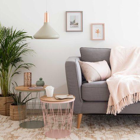 Tavolini Salotto Maison Du Monde.Mobili Complementari Salotti Rosa Colori Arredamento Soggiorno