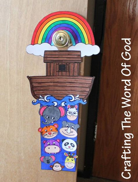 One of my favorite Bible stories to make crafts for is the story of Noah's ark, There are dozens and dozens of ideas you can play off of. The rainbow, the ark, the dove, Noah himself. Here's a cute...