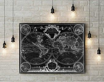 Wood World Map Wall Art Flat Earth Led World Map As Wall Etsy Map Wall Art World Map Wall Art Map Art