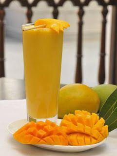 اكلات ومشروبات بيتي عصير المانجو Mango Lassi Mango Drinks Slush Recipes
