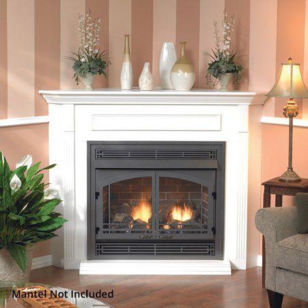 Empire Premium Vail Ventless Gas Fireplace 36 Woodlanddirect