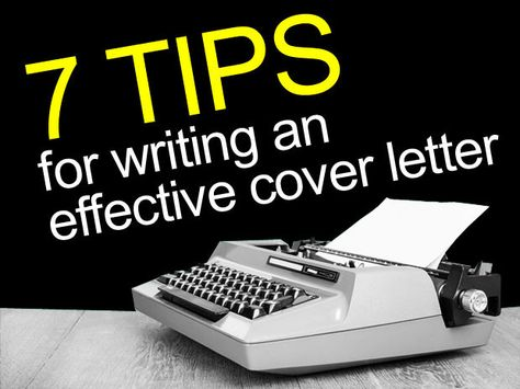 7 Tips for Writing an Effective Cover Letter CIO - effective cover letters