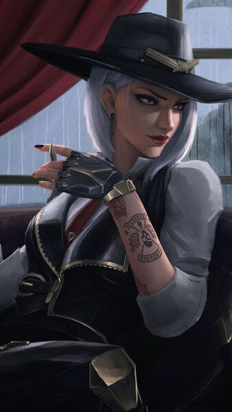 Ashe Overwatch HD Mobile, Smartphone and PC, Desktop, Laptop wallpaper - Best of Wallpapers for Andriod and ios