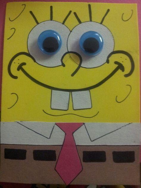 DIY Spongebob Birthday Invitations So Cute