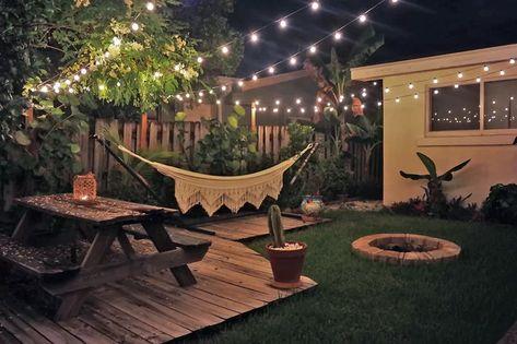 Swoon-Worthy Bright Bohemian Backyard
