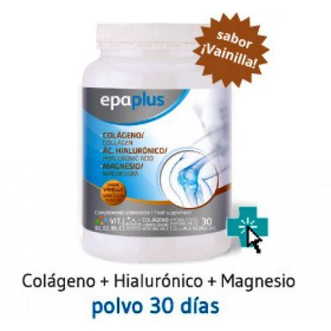 Epaplus C H M Nuevo Colageno Vainilla Acido Hialuronico
