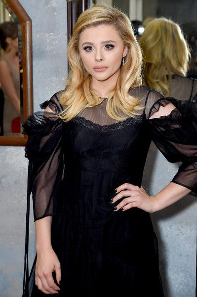Actress Chloe Grace Moretz attends the after party for the New York screening of 'The Miseducation Of Cameron Post' at Cinema 123 in NYC.