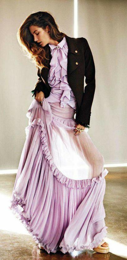 Ilde Adli Kullanicinin L Eleganza In Viola Lilla Glicine Panosundaki Pin 2020 Moda