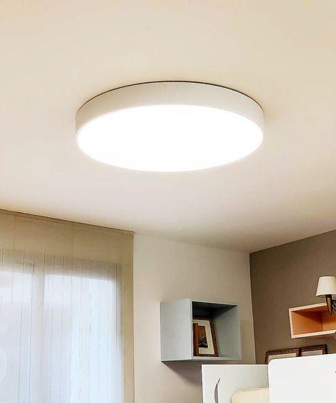 Helios 2019Lampara Plafón techo techo de en dormitorio J31cu5FTlK